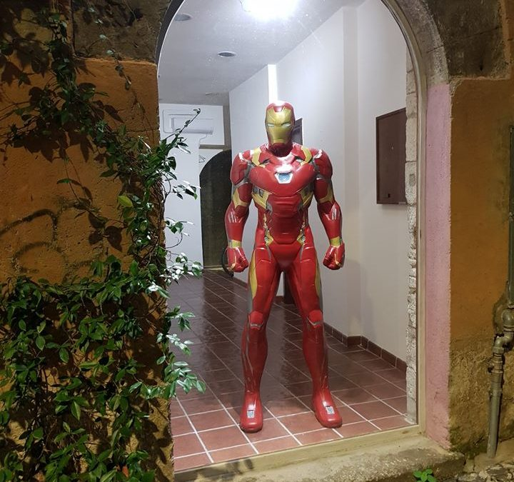 Iron-Man a Cartaviva