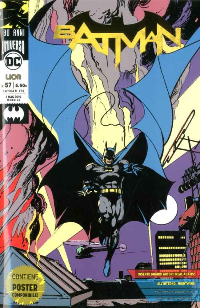 Batman (Bruce Wayne), Justice League, Personaggio della.