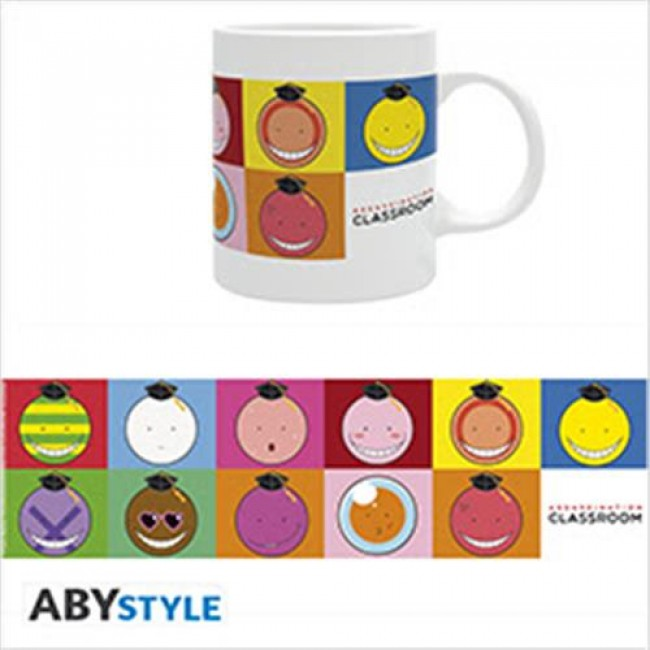 Gadget – Abystyle – Assassination Classroom – Koro Faces – Tazza
