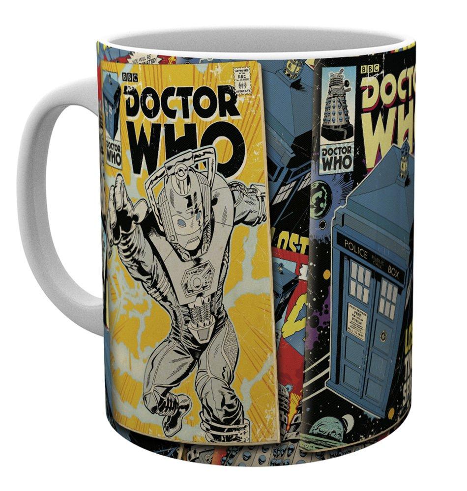Gadget – Doctor Who – Comics – Tazza