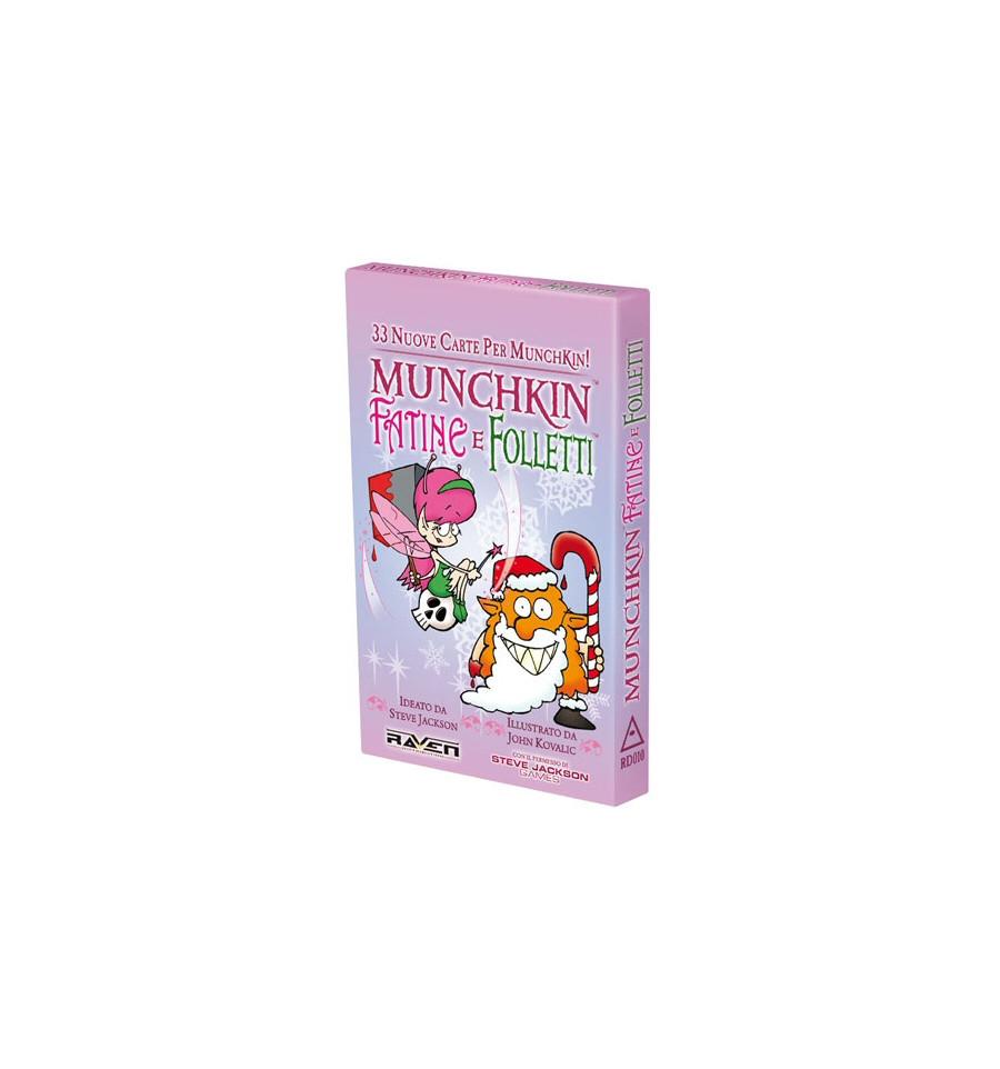 Gioco da Tavolo – Steve Jackson Games – Munchkin – Munchkin Fatine E Folletti