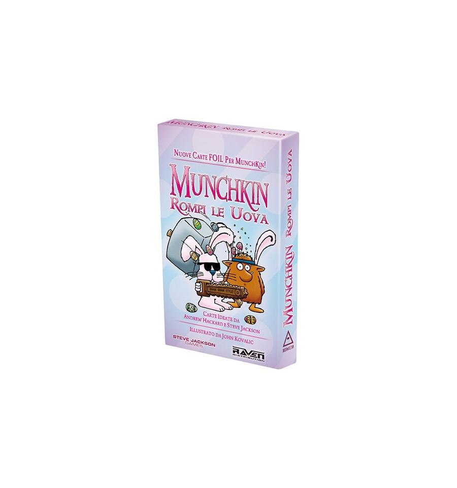 Gioco da Tavolo – Steve Jackson Games – Munchkin – Munchkin Rompi Le Uova