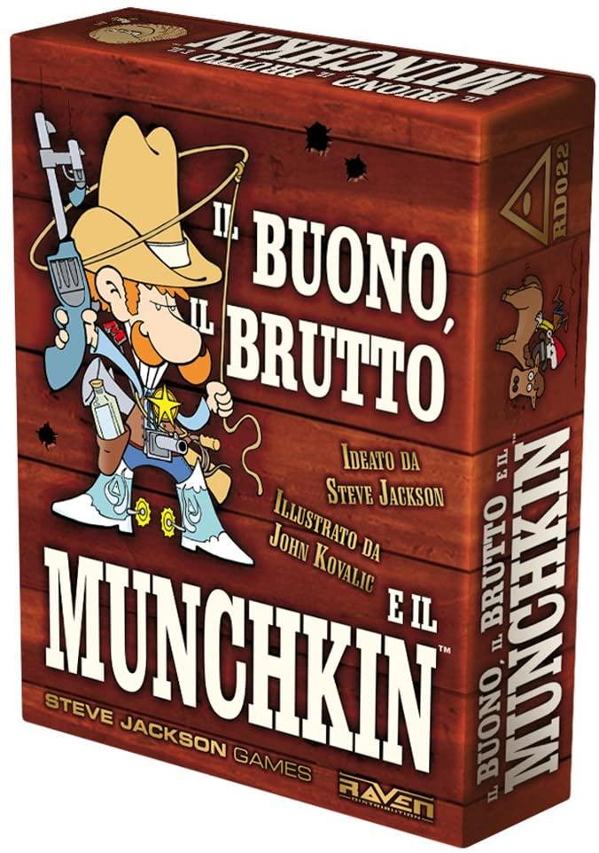 Gioco da Tavolo – Steve Jackson Games – Munchkin – Il Buono, Il Brutto E Il Munchkin