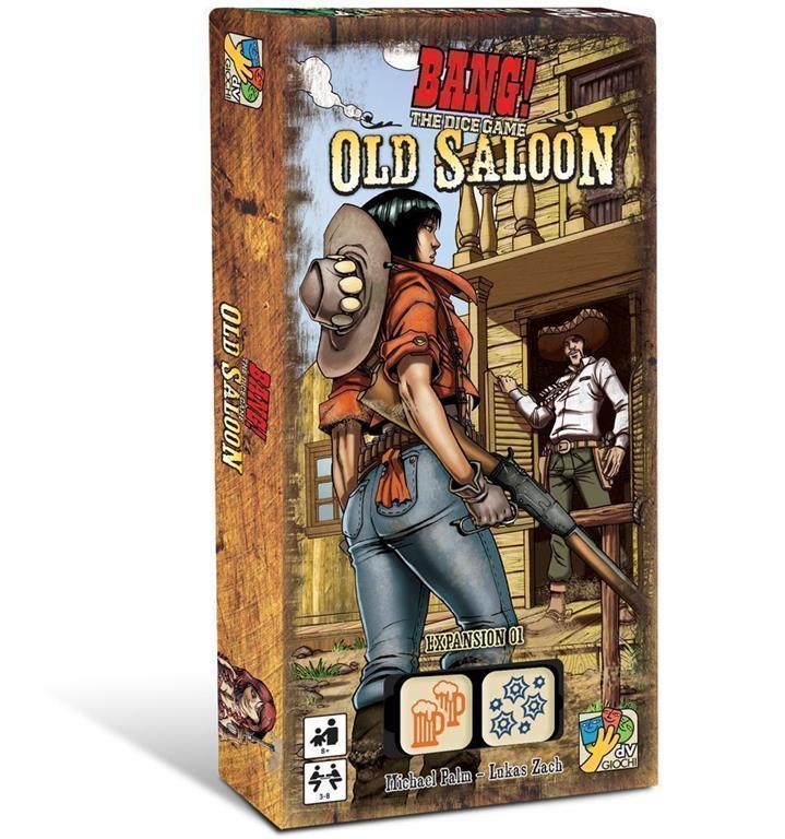 Gioco da Tavolo – Dv Giochi – Bang – Old Saloon