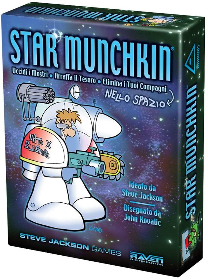 Gioco da Tavolo – Steve Jackson Games – Munchkin – Star Munchkin
