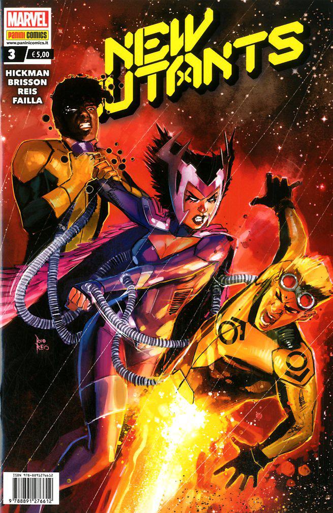 Fumetto – Marvel Italia – New Mutants #3