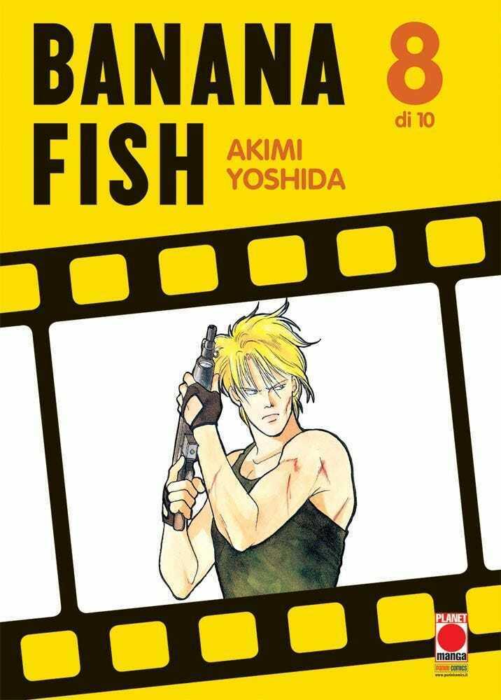 Manga – Planet Manga – Banana Fish #8