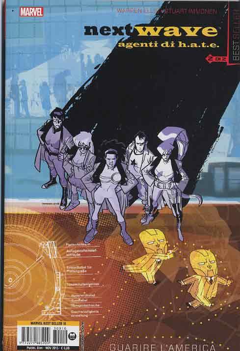 Fumetto – Marvel Italia – Marvel Best Seller #10 – Nextwave #2