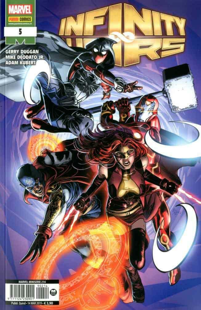Fumetto – Marvel Italia – Marvel Miniserie #214 – Infinity Wars #5