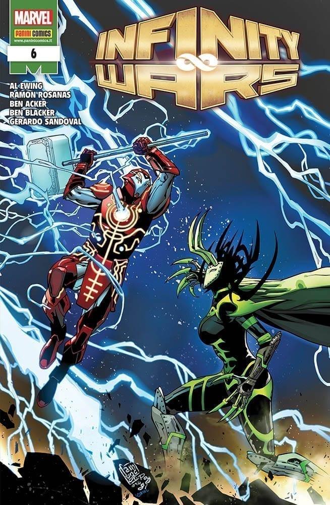 Fumetto – Marvel Italia – Marvel Miniserie #215 – Infinity Wars #6