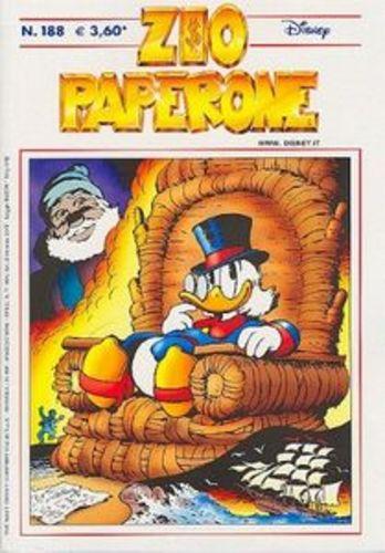 DPR16 – Fumetto – Walt Disney – Zio Paperone #188 – 2005 – Usato