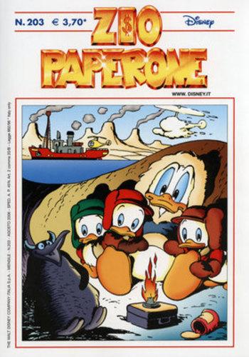 DPR16 – Fumetto – Walt Disney – Zio Paperone #203 – 2006 – Usato