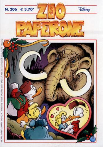 DPR16 – Fumetto – Walt Disney – Zio Paperone #206 – 2006 – Usato