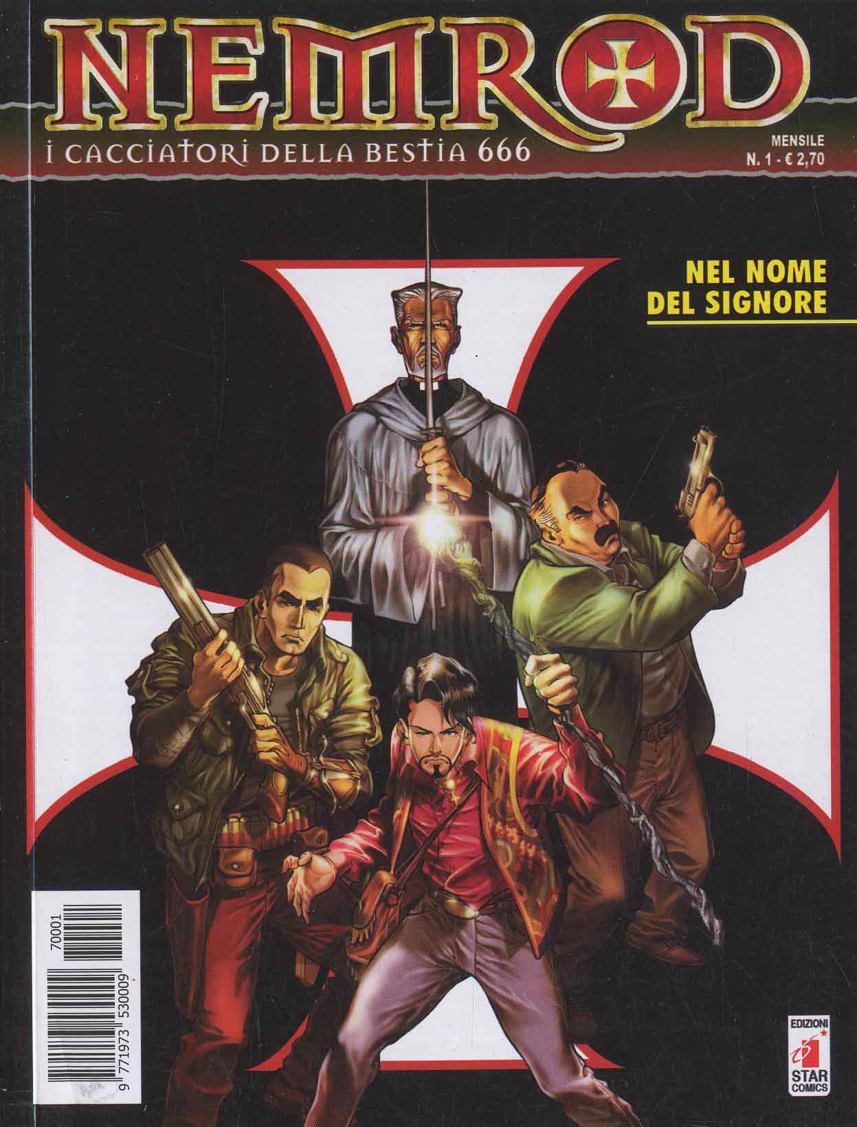 ST06 – Fumetto – Star Comics – Nemrod #1 – Usato – Come Nuovo !!!