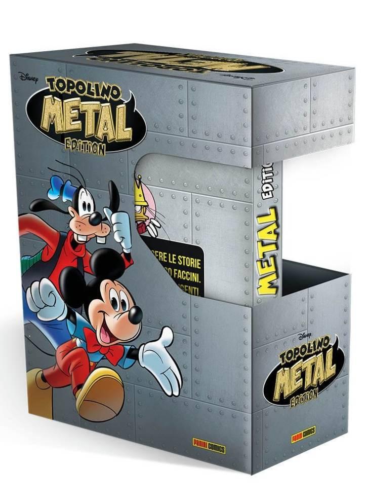 Fumetto – Panini Disney – Topolino Metal Edition + Cofanetto