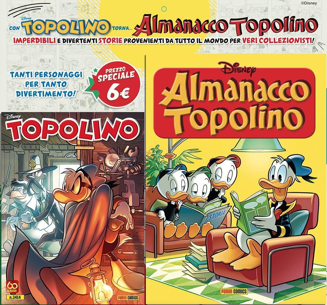 Fumetto – Panini Disney – Topolino #3414 con Almanacco Topolino #1 in Allegato
