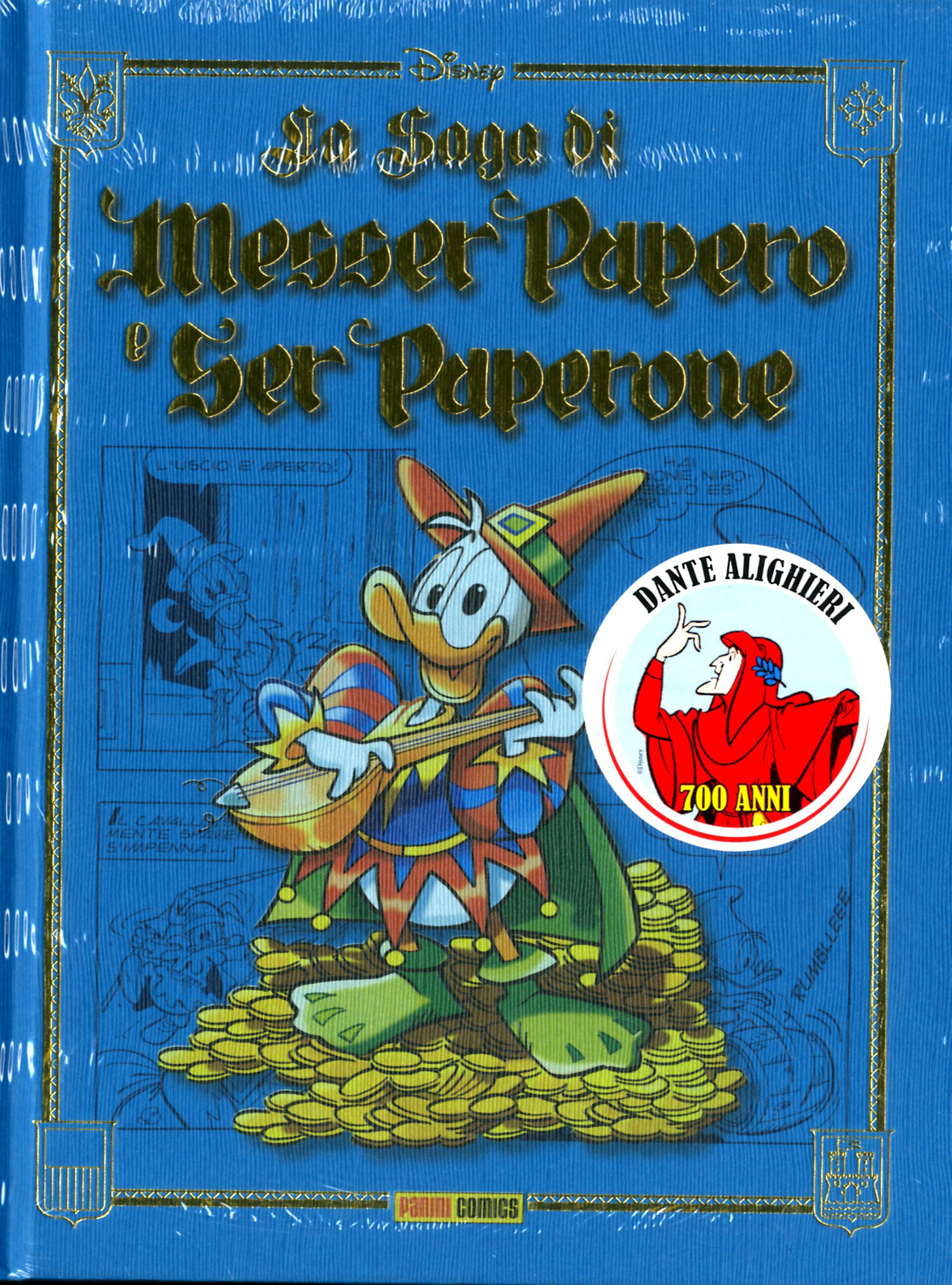 Fumetto – Panini Disney – La Saga di Messer Papero e Ser Paperone
