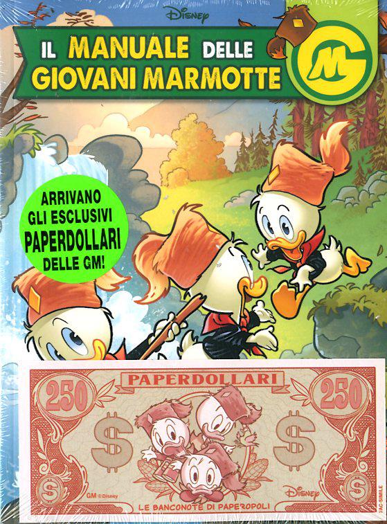 Fumetto – Panini Disney – Il Manuale delle Giovani Marmotte #11 con Banconota