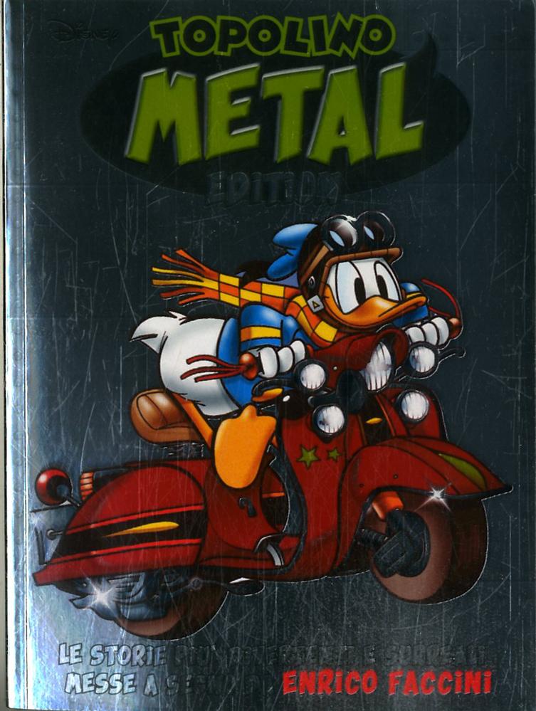 Fumetto – Panini Disney – Topolino Metal Edition