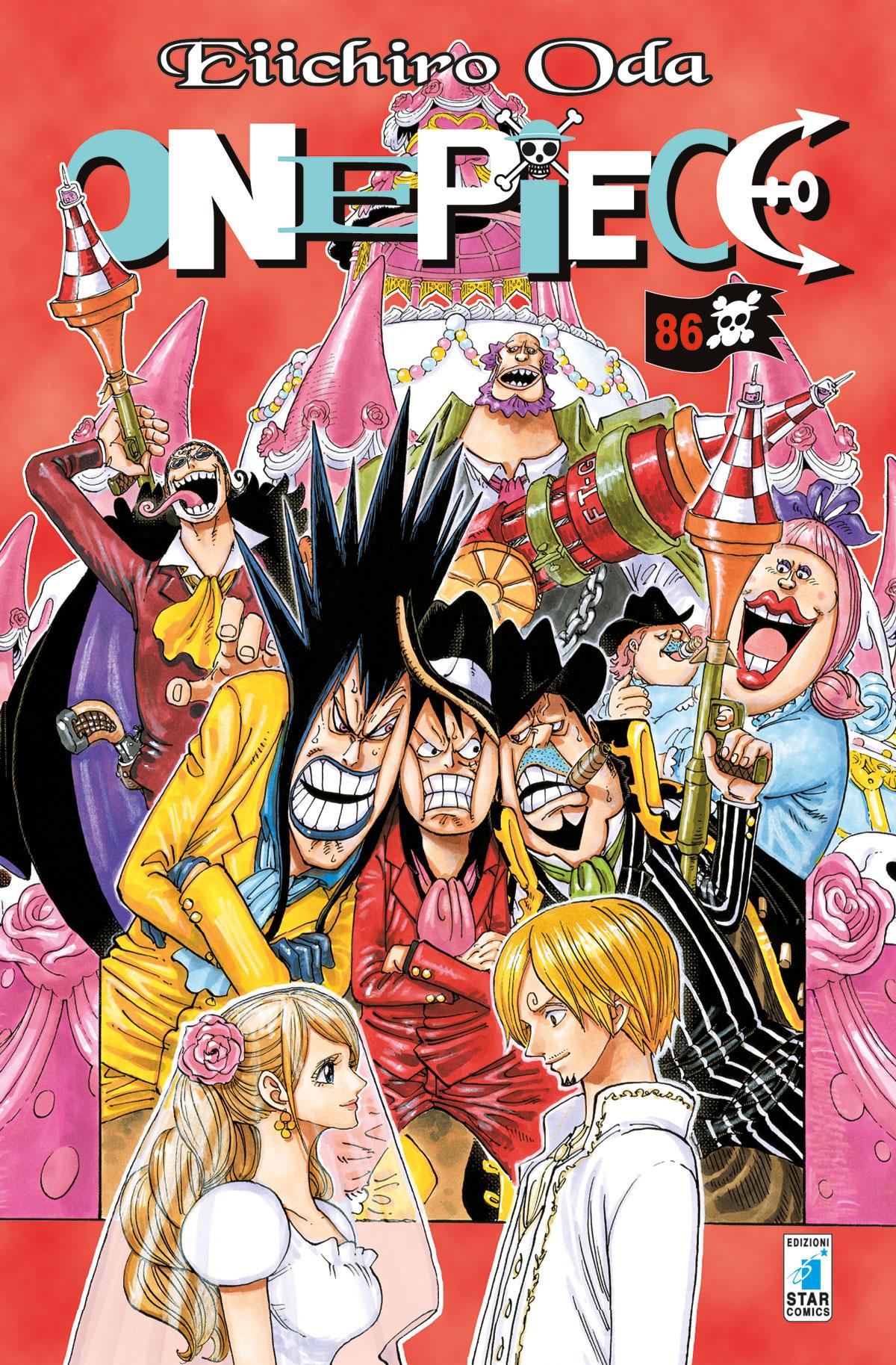 Manga – Star Comics – One Piece #86