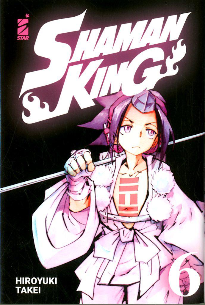 Manga – Star Comics – Shaman King Final Edition #6