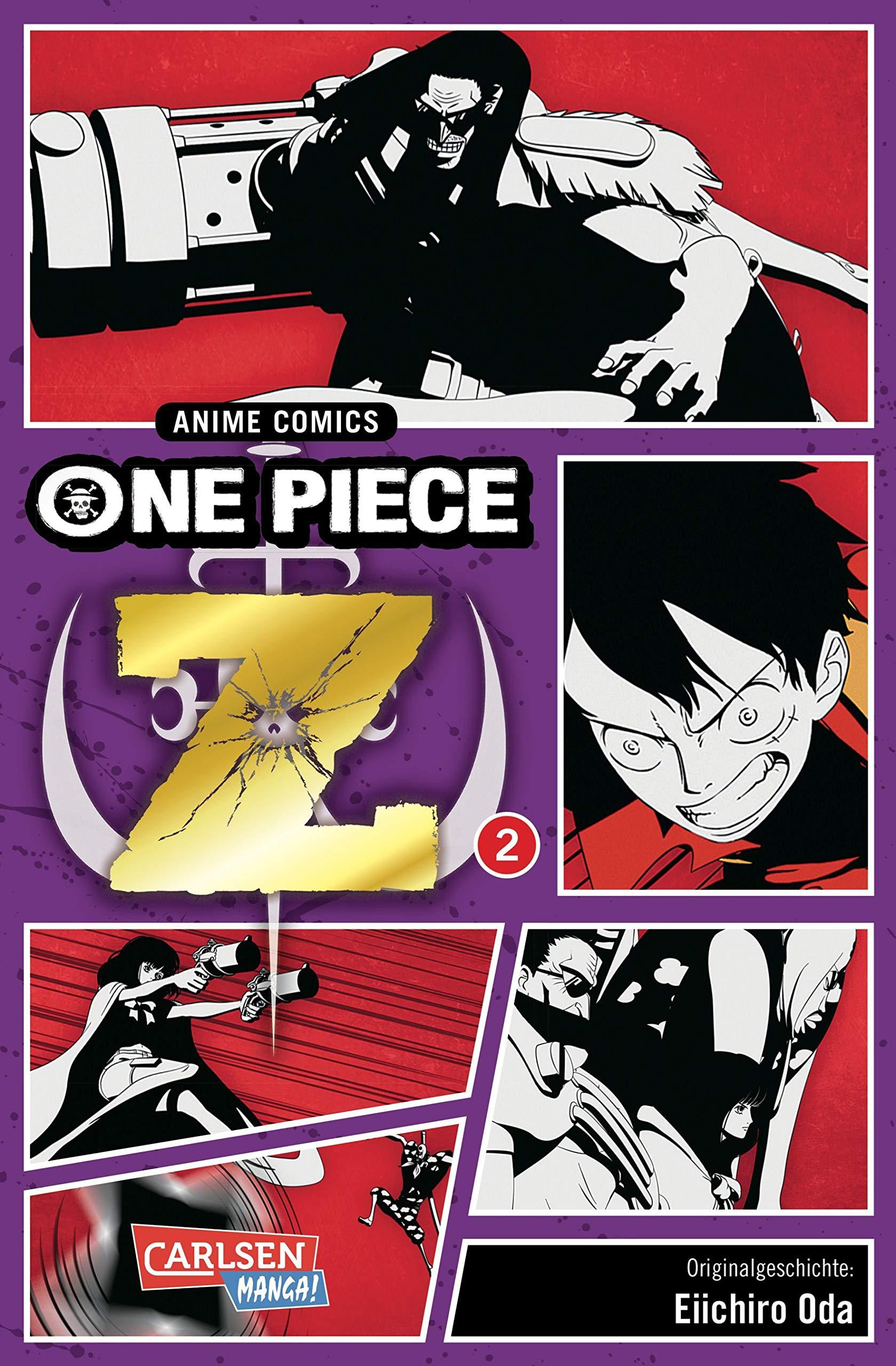 Manga – Star Comics – One Piece Z: Il FIlm – Anime Comics #2