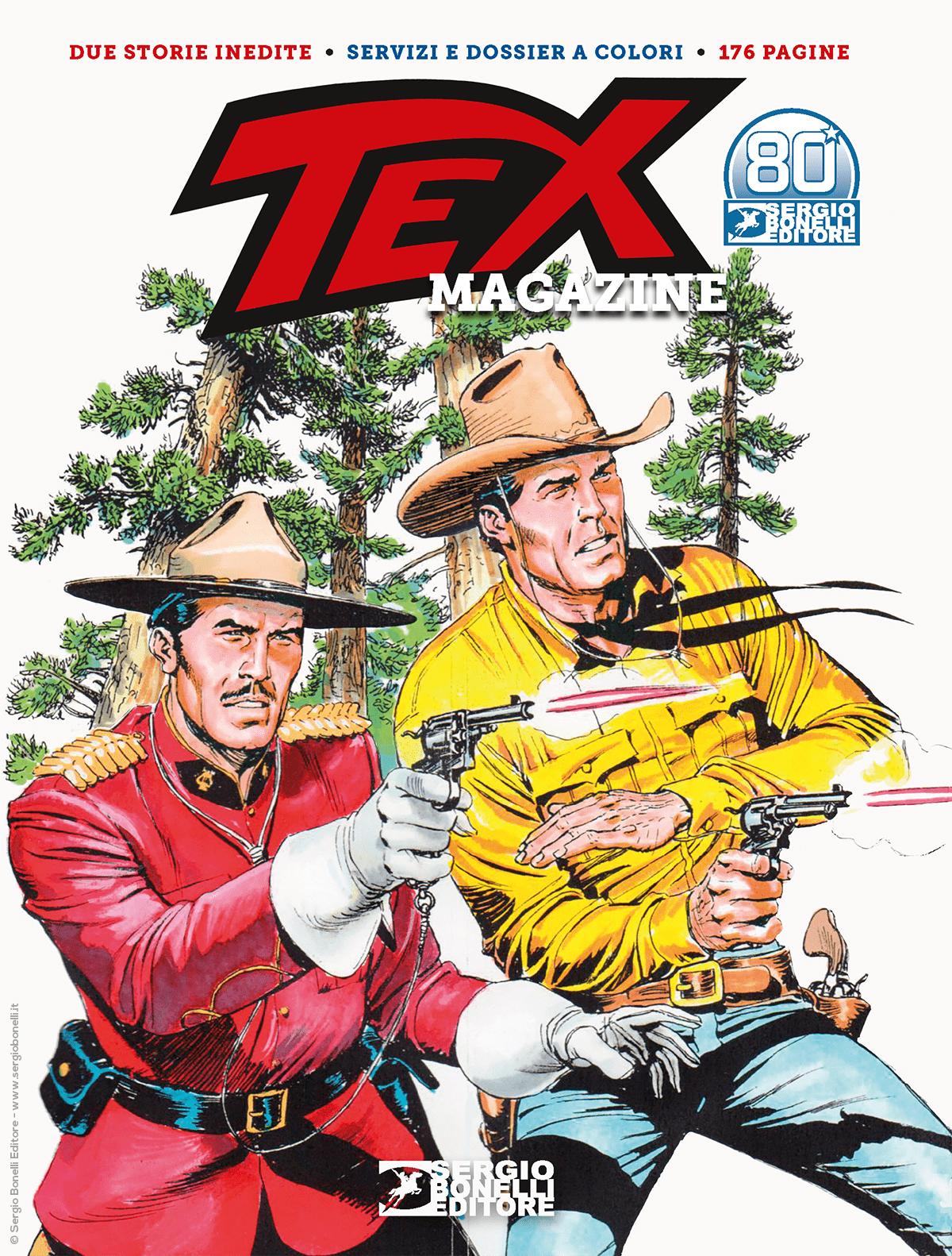 Fumetto – Bonelli – Tex Magazine 2021