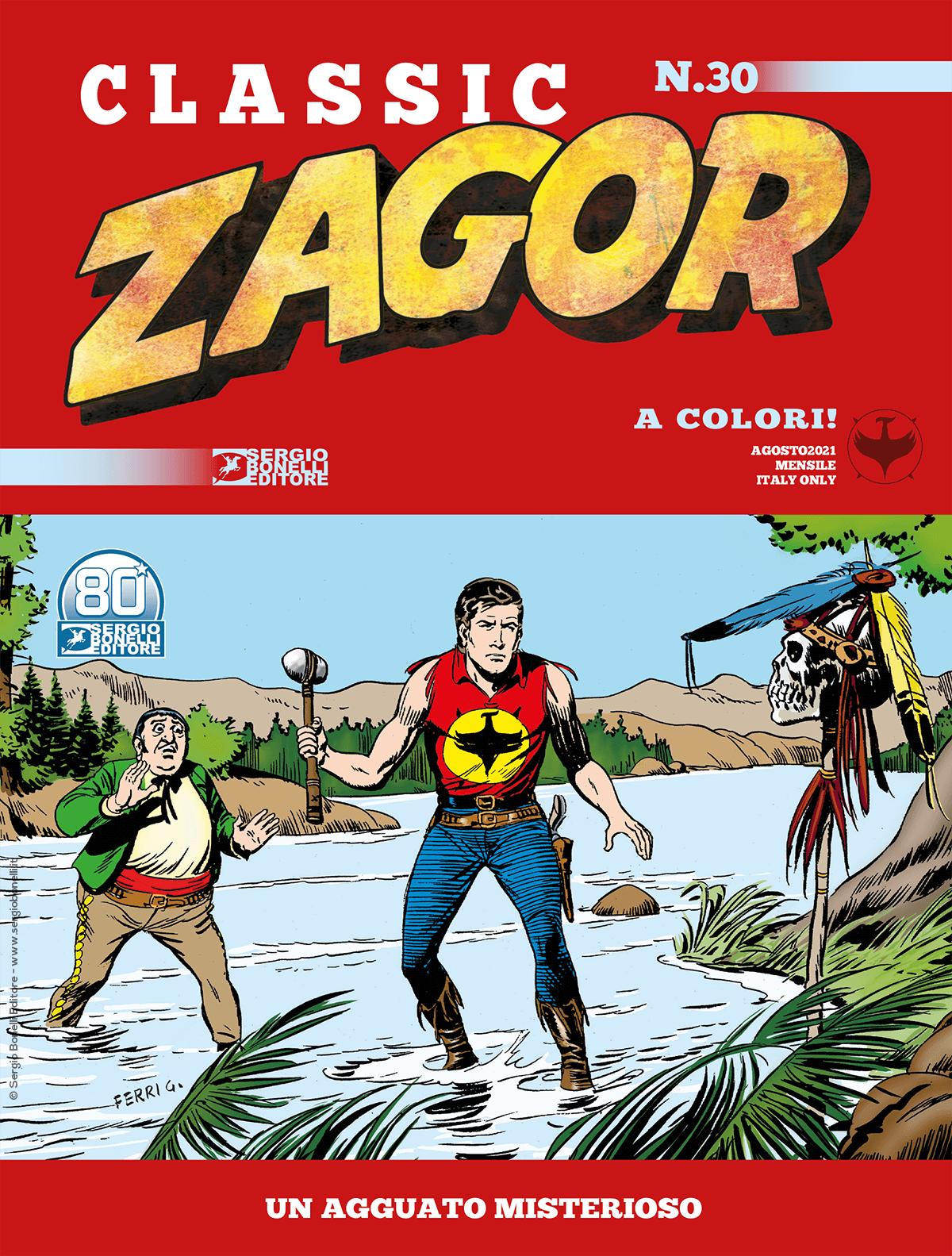 Fumetto – Bonelli – Classic Zagor #30 – Un Agguato...