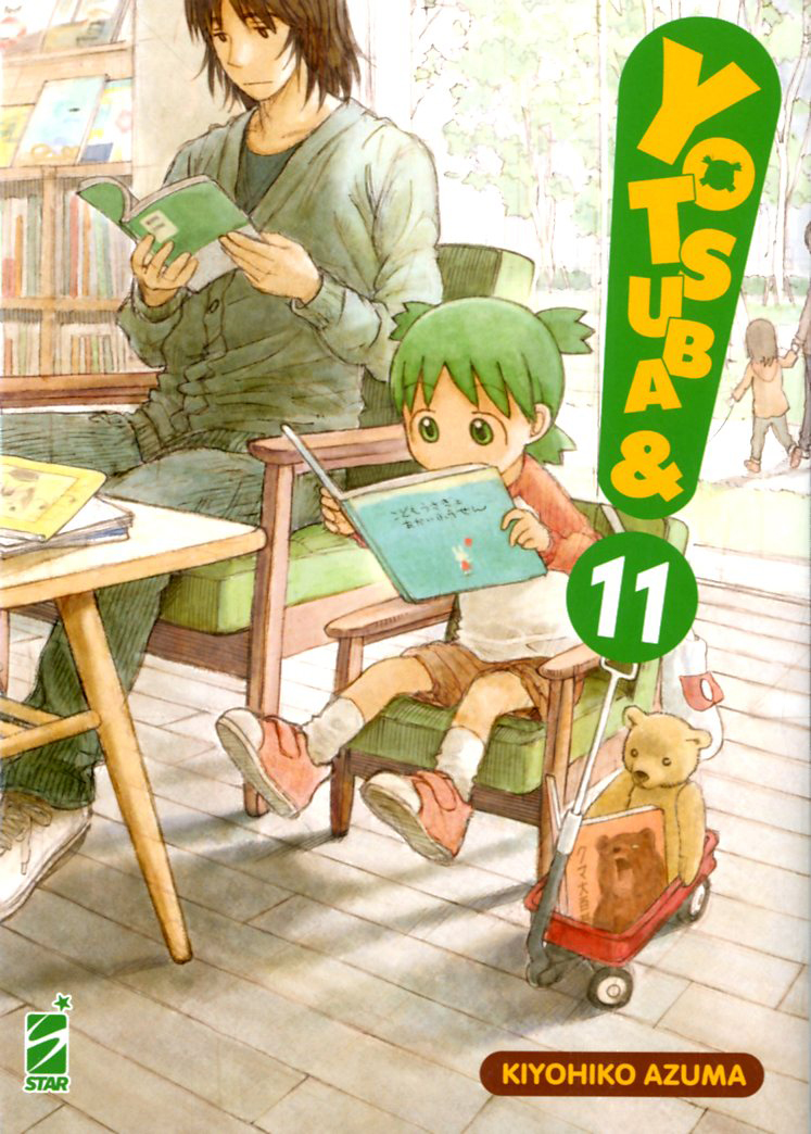 Manga – Star Comics – Yotsuba&! #11
