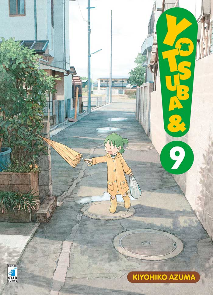 Manga – Star Comics – Yotsuba&! #9