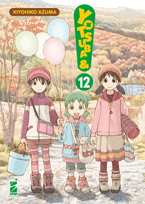 Manga – Star Comics – Yotsuba&! #12