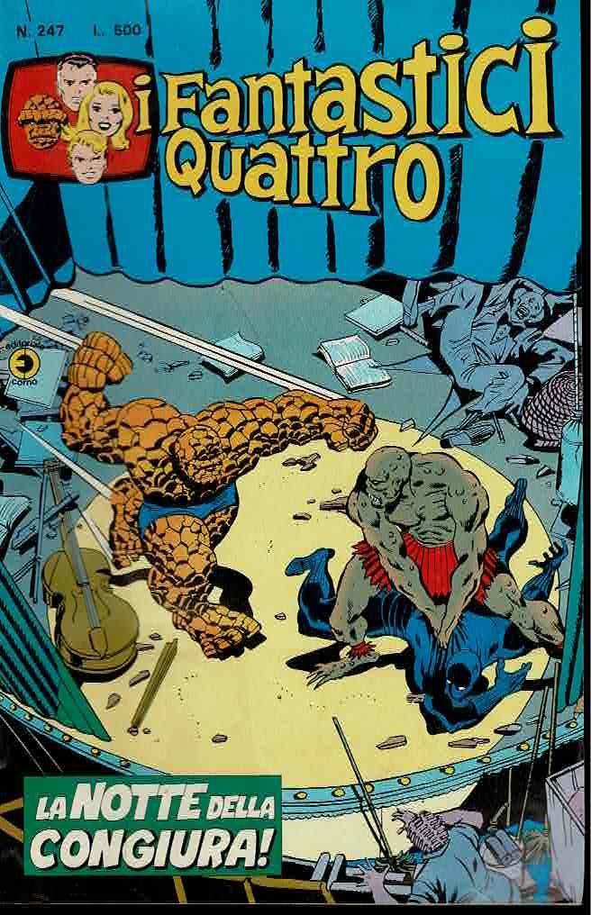 DPC02 – Fumetto – Corno – I Fantastici Qua...
