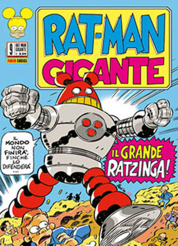 Fumetto – Panini Comics – Rat-Man Gigante #9