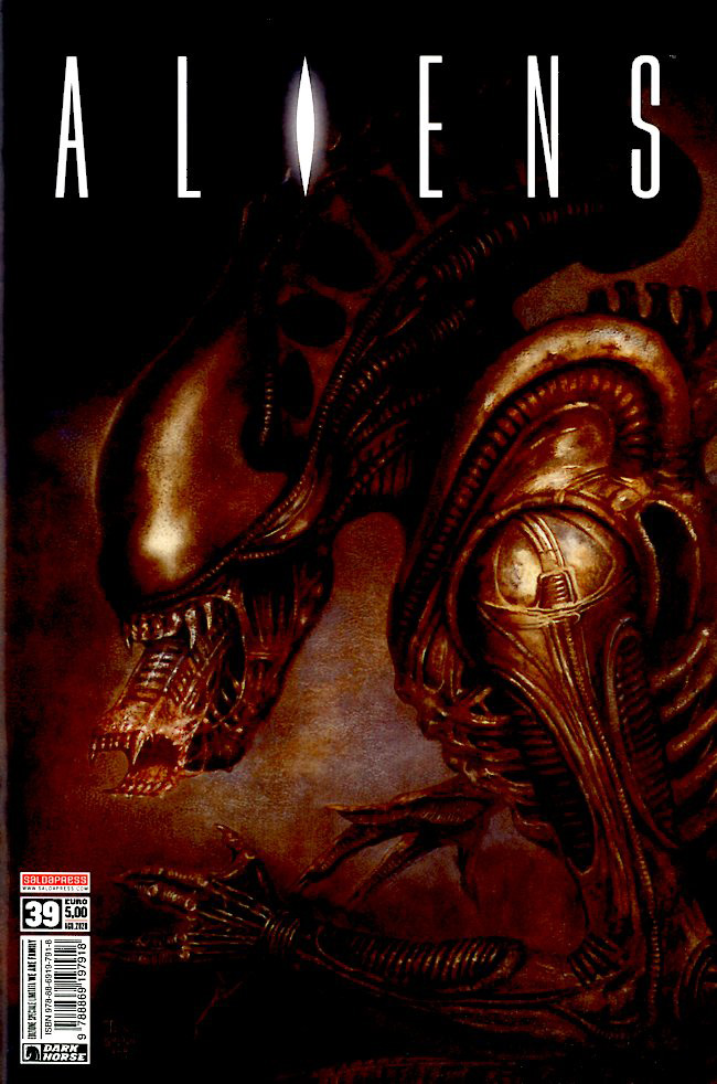 Fumetto – Saldapress – Aliens Defiance #39 Variant Cover