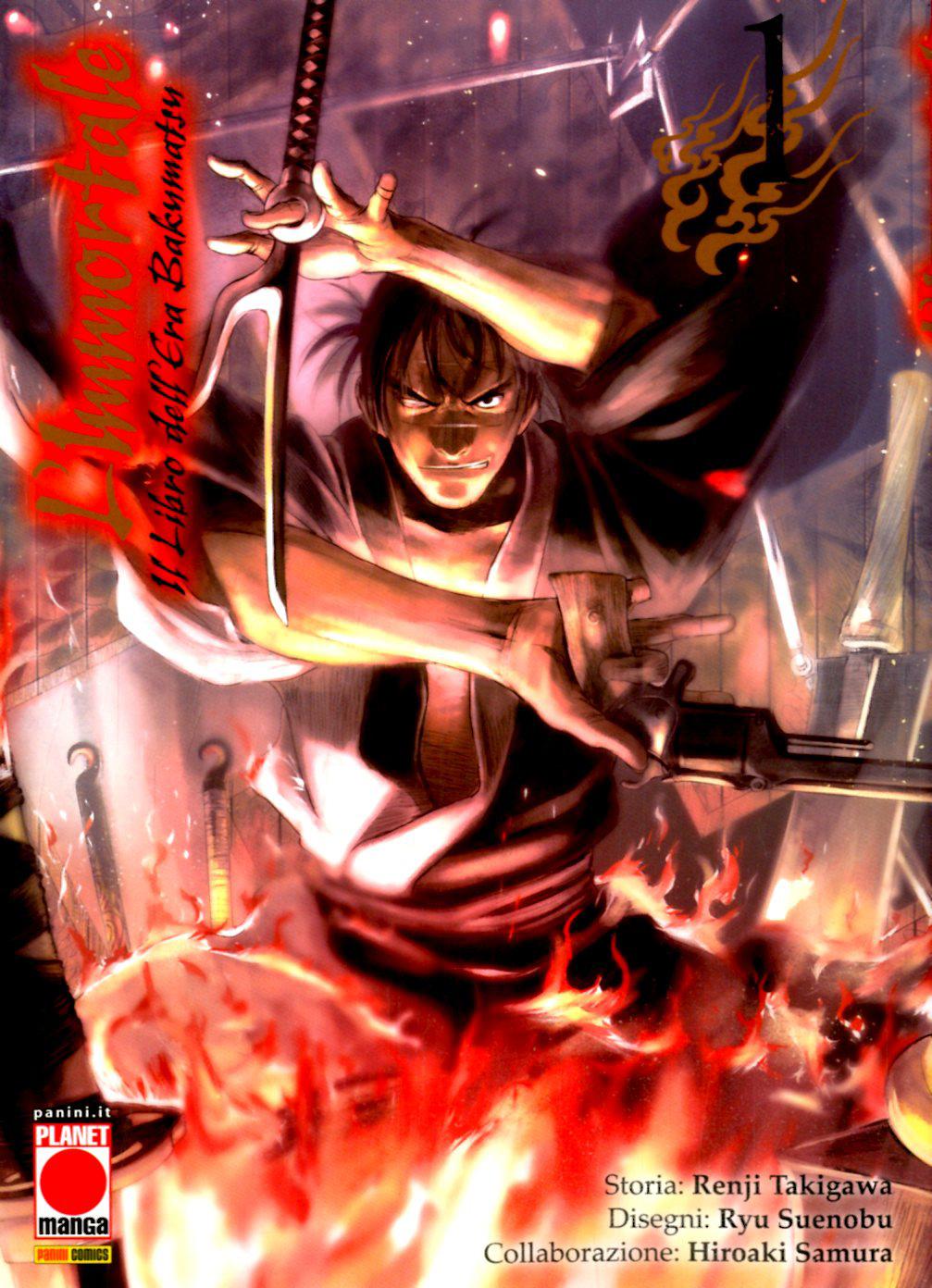 Manga – Planet Manga – L'Immortale Il Libr...