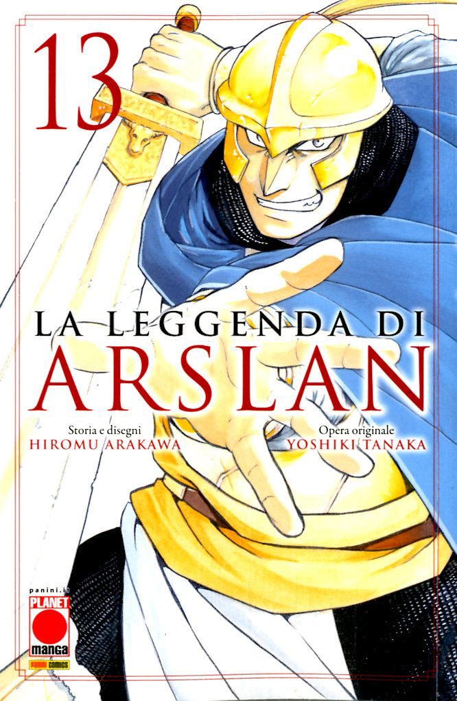 Manga – Planet Manga – La Leggenda di Arslan #13