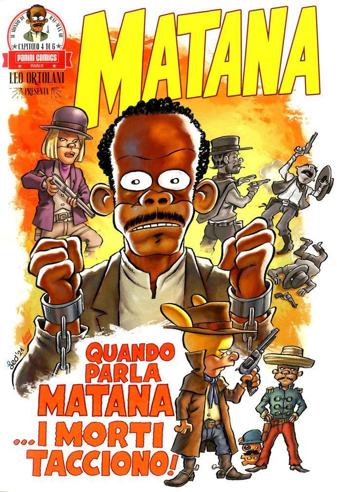 Fumetto – Panini Comics – Leo Ortolani Presenta Matana #4