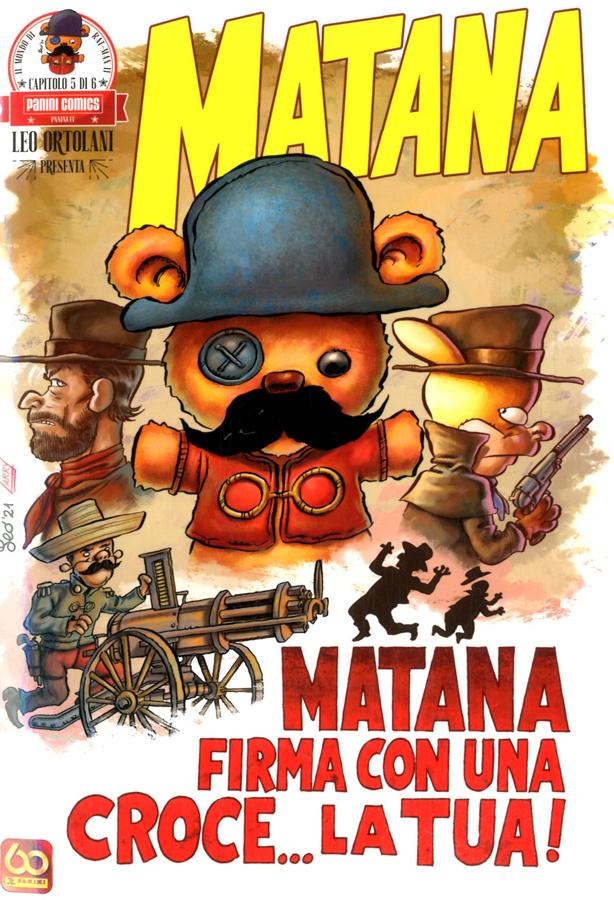 Fumetto – Panini Comics – Leo Ortolani Presenta Matana #5