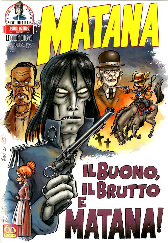Fumetto – Panini Comics – Leo Ortolani Presenta Matana #6