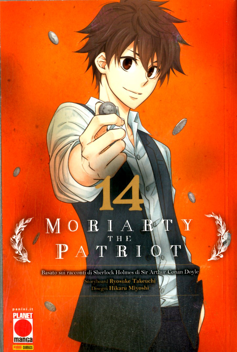 Manga – Planet Manga – Moriarty the Patriot #14