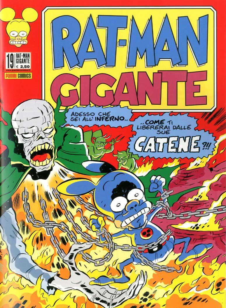 Fumetto – Panini Comics – Rat-Man Gigante #19