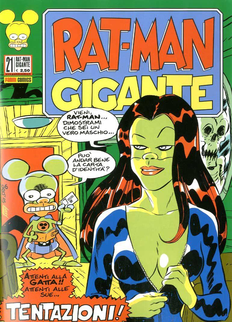 Fumetto – Panini Comics – Rat-Man Gigante #21
