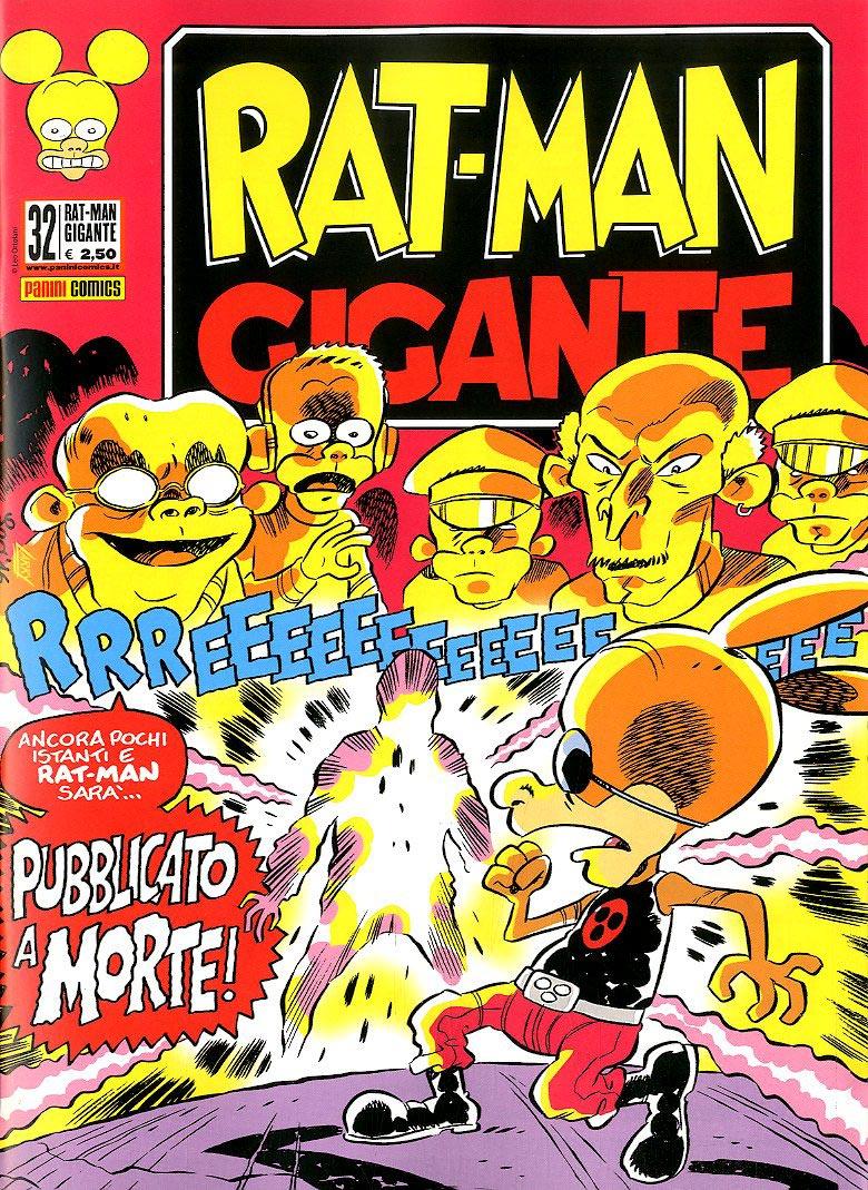 Fumetto – Panini Comics – Rat-Man Gigante #32