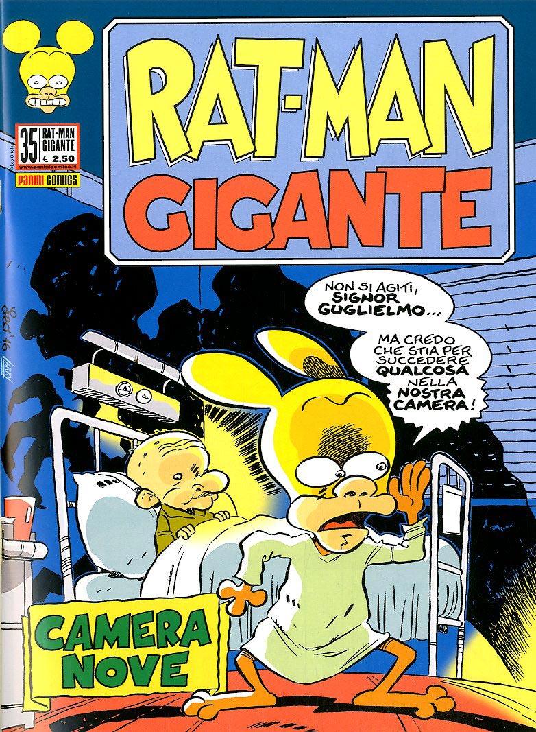 Fumetto – Panini Comics – Rat-Man Gigante #35