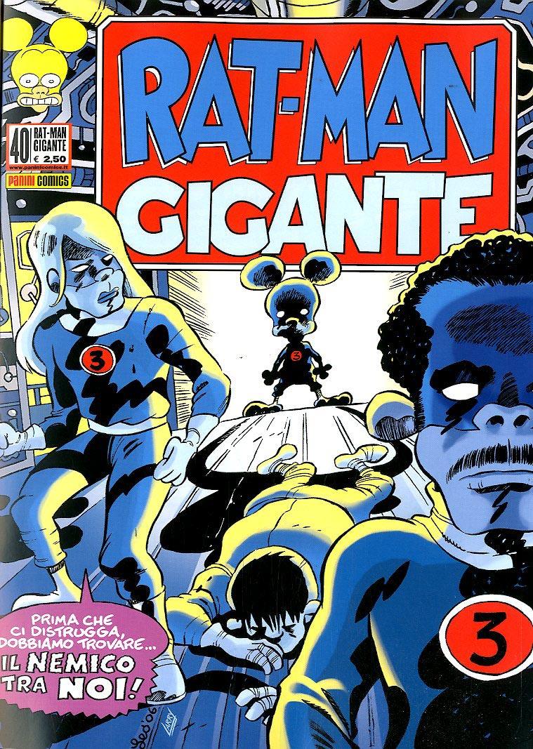 Fumetto – Panini Comics – Rat-Man Gigante #40