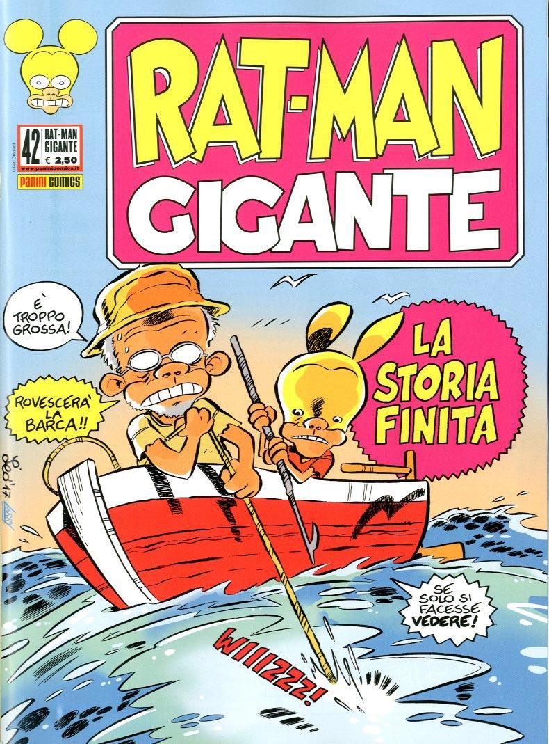 Fumetto – Panini Comics – Rat-Man Gigante #42