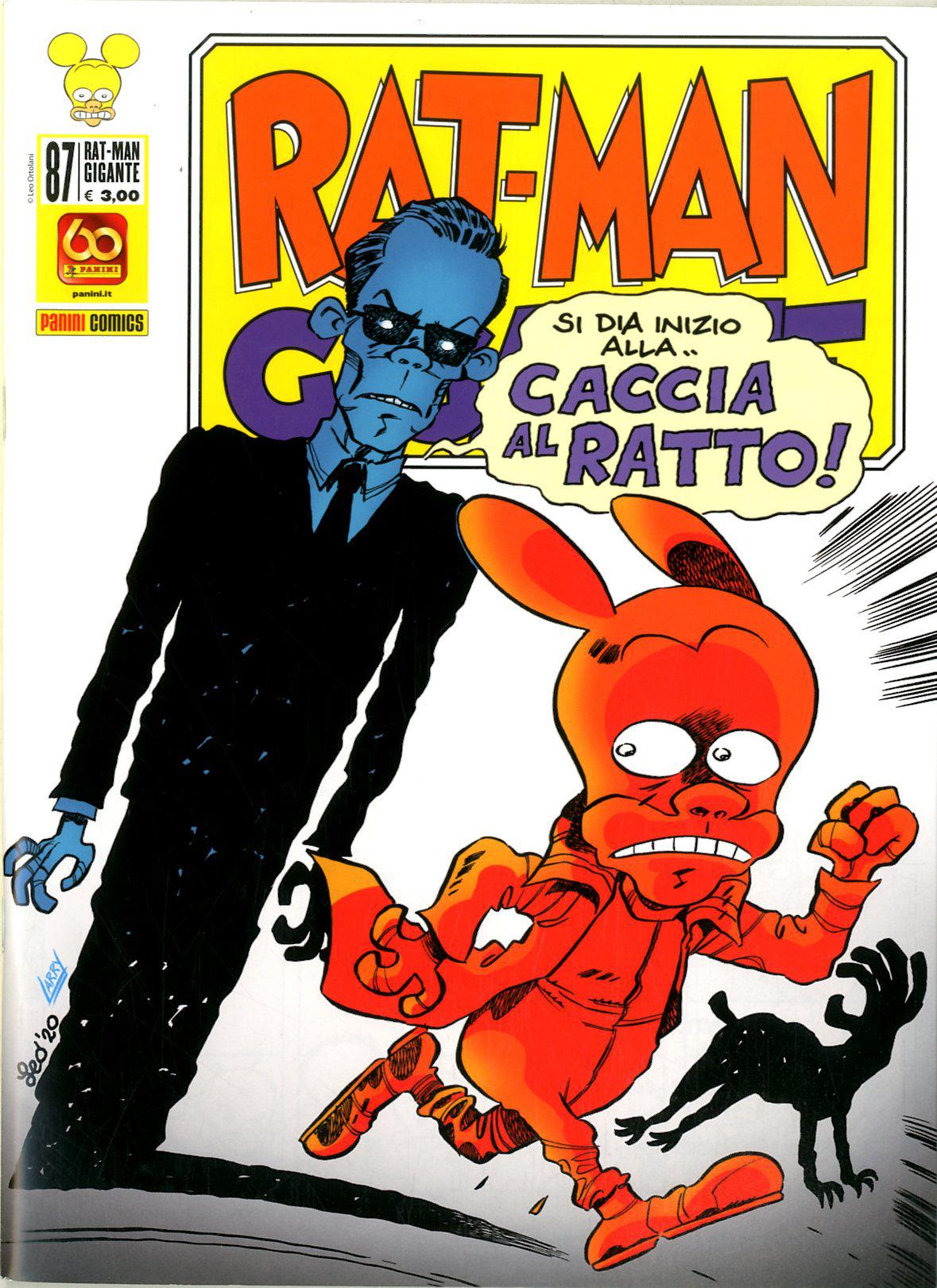 Fumetto – Panini Comics – Rat-Man Gigante #87