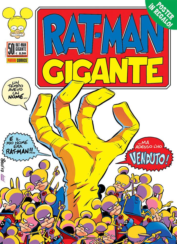 Fumetto – Panini Comics – Rat-Man Gigante #50