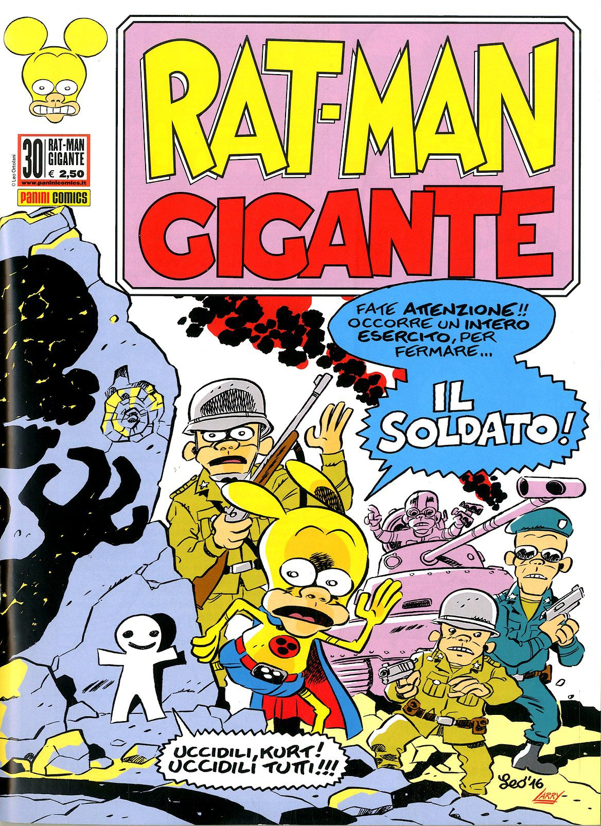 Fumetto – Panini Comics – Rat-Man Gigante #30