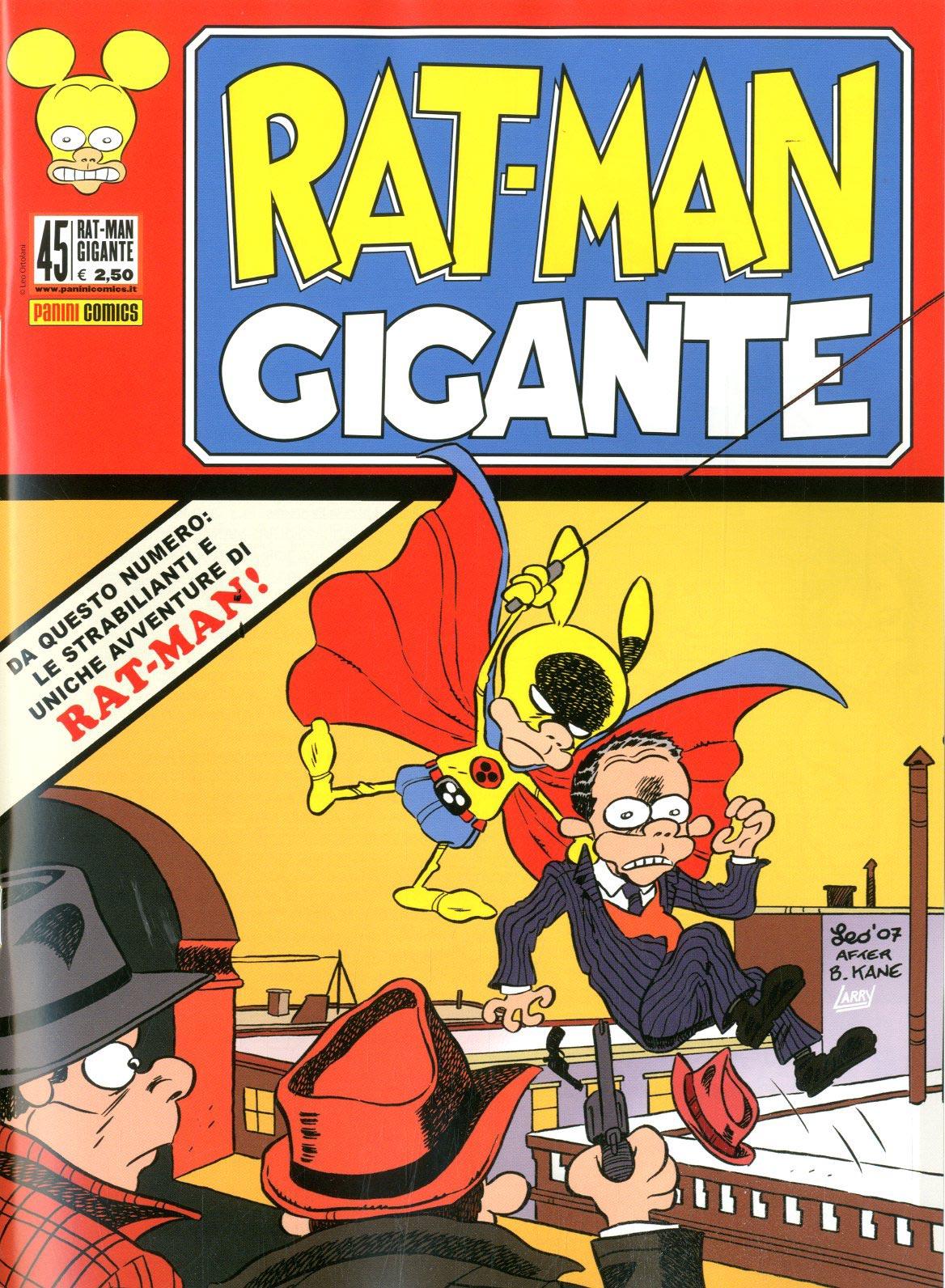 Fumetto – Panini Comics – Rat-Man Gigante #45